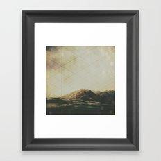 I Am Starting To Drift Away Framed Art Print