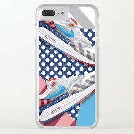 Parra Collab Clear iPhone Case