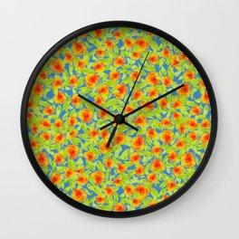 Marigold Medley Wall Clock