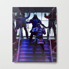 Lucha figures Metal Print