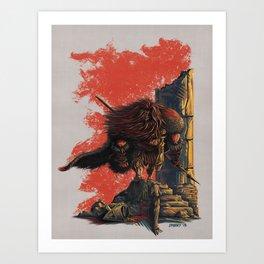 Romulus Triumphant Art Print