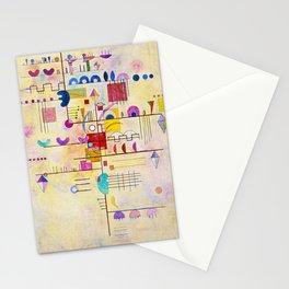 Wassily Kandinsky - Graceful ascent Stationery Cards