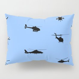 Helicopter Pattern Pillow Sham