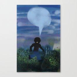 Boy Runs Series Canvas Print