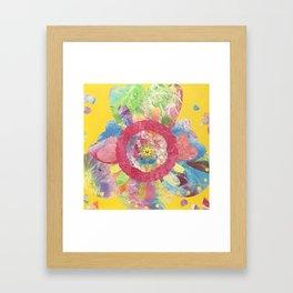 FlowerWaltz03 Framed Art Print