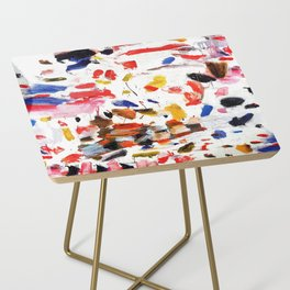Abstract Painting #2 Side Table