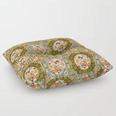 Persian Tile Butterfly Variation Floor Pillow