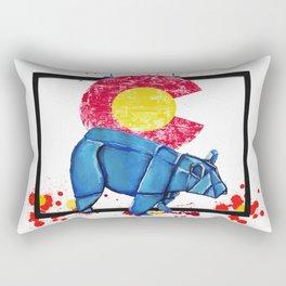 Paper Co Bear- Wild World Of Paper Series Rectangular Pillow