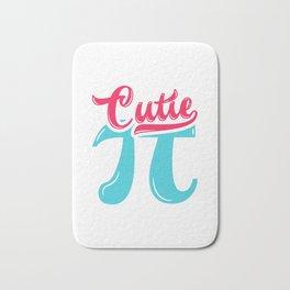 Cutie Pi Cute Math design Bath Mat