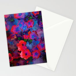 Ruby Red Vine Stationery Cards