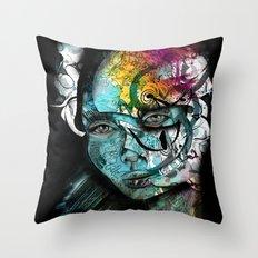 Sad Throw Pillow