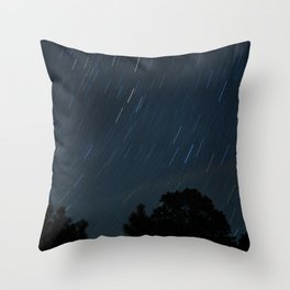 Stars in the night Throw Pillow