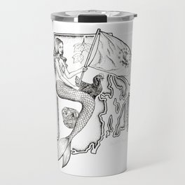 Rhode Island Mermaid Travel Mug