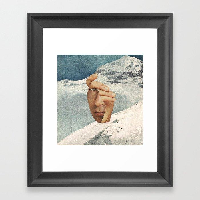 Muh Anne Inn Tha Mount Tan Framed Art Print