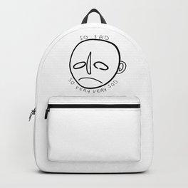 so sad, so very, very sad Backpack