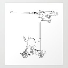 30MM Trike Art Print