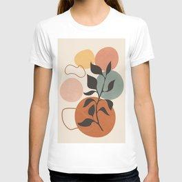 Abstract Minimal Shapes 23 T-shirt