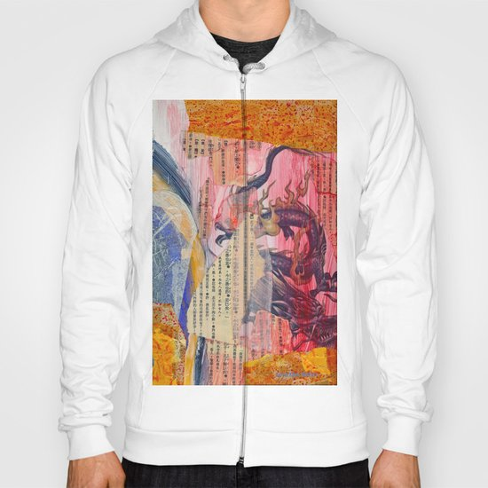 Collage Love - Zhong Long Hoody