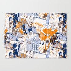 THE SACRED CITY Canvas Print