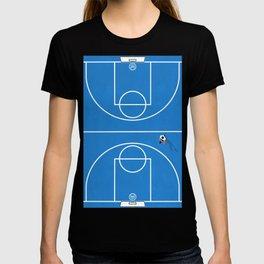Shoot Hoops | Aerial Basketball T-shirt