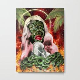 Trouble In Paradise Metal Print