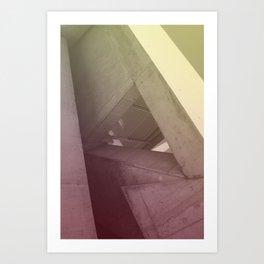 Zaha Art Print