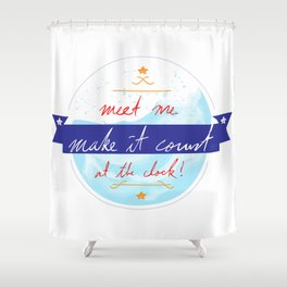 Make It Count Shower Curtain