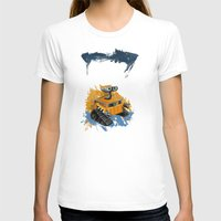 rothko T-shirts featuring Wall-E and Rothko by Renee Bolinger