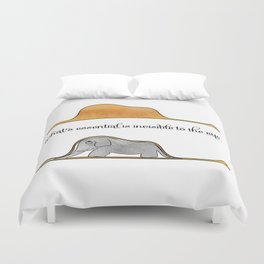 The Little Prince, a hat or an elephant? Duvet Cover
