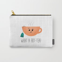 What A Hot-Tea Carry-All Pouch