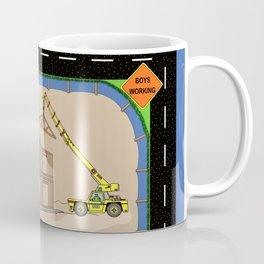 job site construction panel Coffee Mug