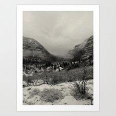 Telluride Mist Art Print