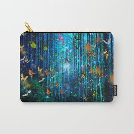 Magical Path Butterflies Carry-All Pouch