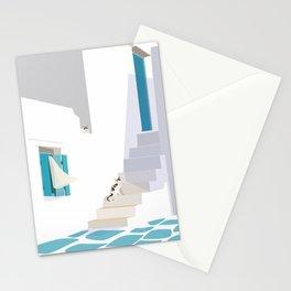 OMA-80 Greek Island  Stationery Cards