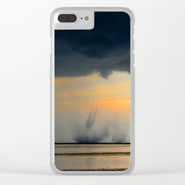 Water Spout Clear iPhone Case