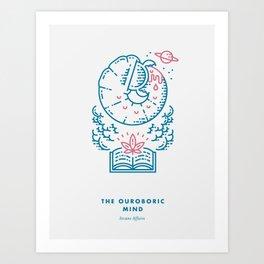 The Ouroboric Mind Art Print