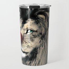 Circus Lion Clown Travel Mug