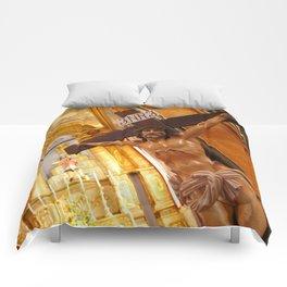 Jesus on the cross Comforters