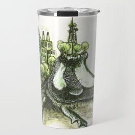 The Metropolis Beetle   Travel Mug