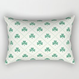 SHAMROCK ON! Rectangular Pillow