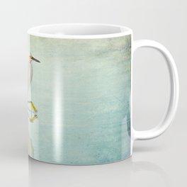 Snowy Egret Coffee Mug