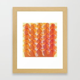 The Jelly Wave Collection Framed Art Print