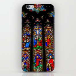 INRI Stained Glass iPhone Skin