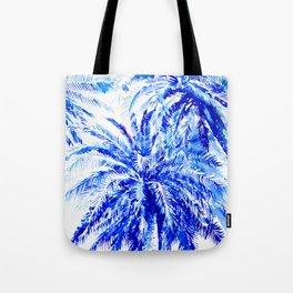 Blue Palms Tote Bag