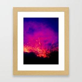Fire Gods Framed Art Print
