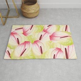 Anthurium - Anthurie - Flamingo Flower Rug