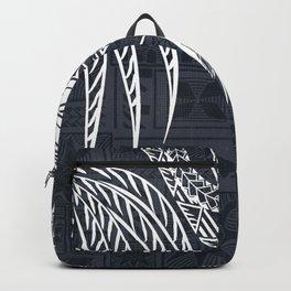 Hawaiian - Samoan - Polynesian Old Tribal Backpack