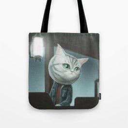 Spy Cat Tote Bag