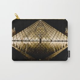 Musee Louvre Pyramid Carry-All Pouch