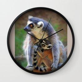 Mama and Baby Wall Clock